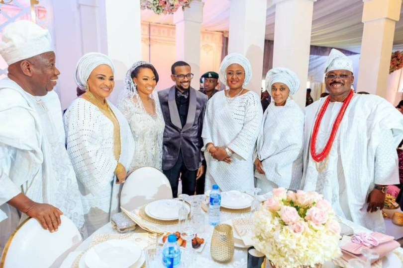 Photos: Osinbajo, Aisha Buhari, Tinubu, Nnamani, others attend the wedding of Kano state governor