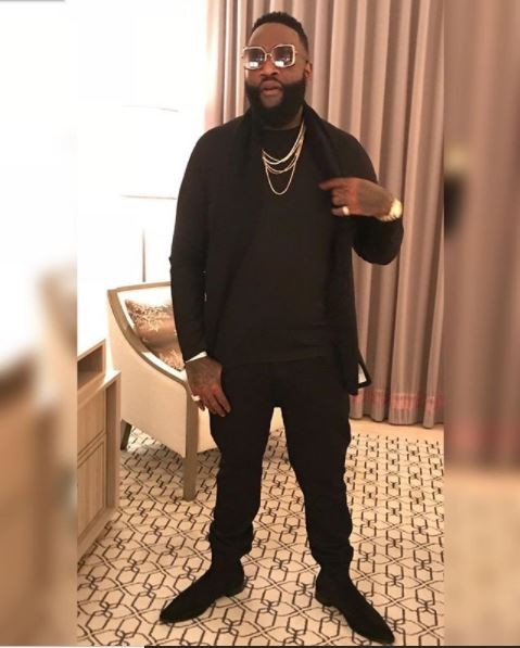Body Goals: Before and After photos of rapper Rick Ross