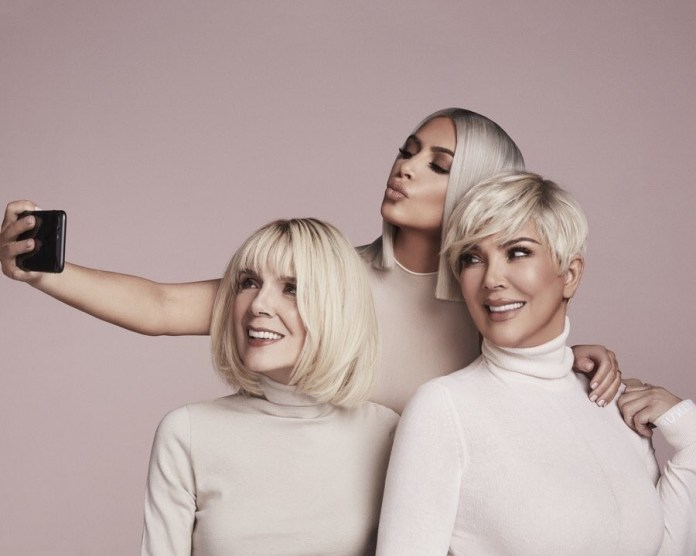 Kim K features her mother and grand-mother in her new KKW beauty campaign