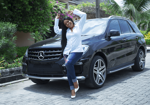 Laura Ikeji Kanu buys a Mercedes-Benz ML 350 AMG as a birthday gift to herself (photos)