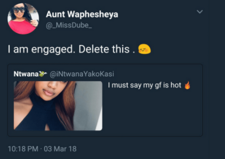 Man exposes his ex-girlfriend