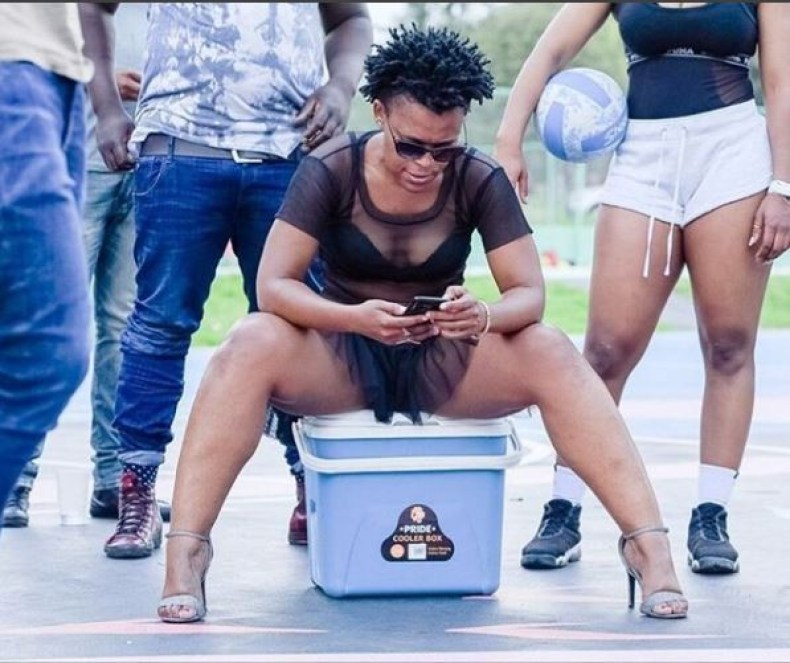 Controversial South African dancer, Zodwa Wabantu shares more pantless photos?