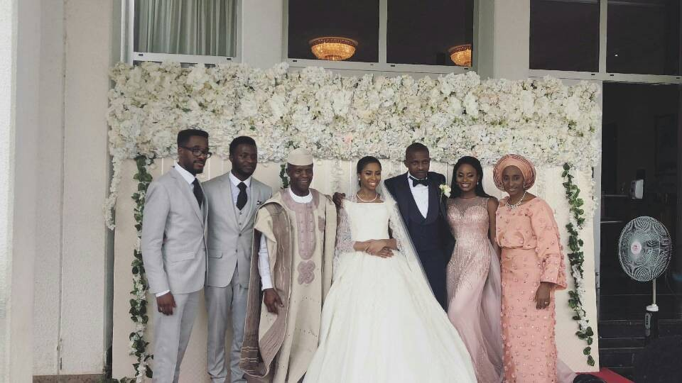 First photos from the wedding of VP Yemi Osinbajo