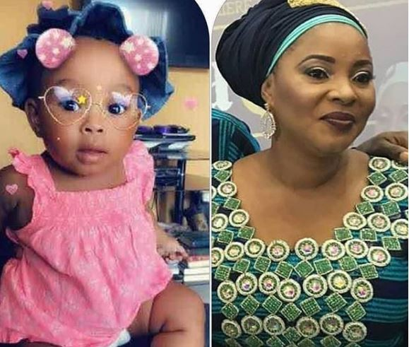 The daughter left behind by late actress, Moji Olaiya Is a?year old today