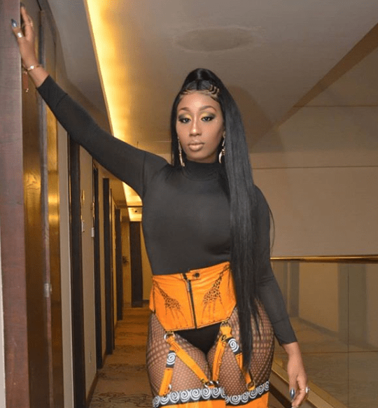 Singer, Victoria Kimani steps out in a sexy outfit