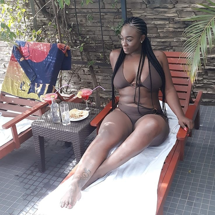 BBN star Uriel flaunts her bikini body in new photos