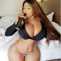 Girl Flaunts Her Juicy Assets in a Bedroom shot on Instagram