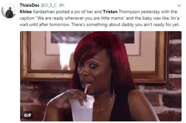 Trolls bombard Twitter with memes after videos surfaces of Khloe Kardashian babydaddy Tristan Thompson cheating on her