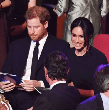 Meghan Markle and Prince Harry in matching blue as they join other Royals for the Queen naija news today
