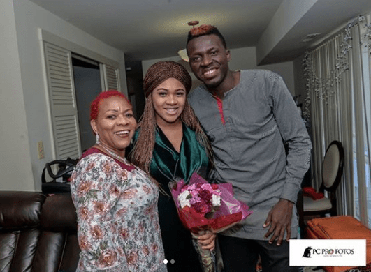 Photos from the naming ceremony of comedian, Akpororo naija news today