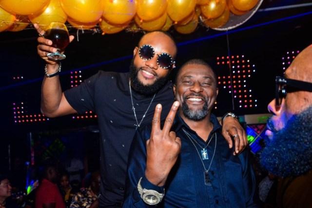 Photos: Olamide, Phyno, E-money turn up for Kcee