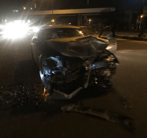 Former video model, Sophie Alakija and family survive ghastly motor accident