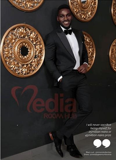 Photos: Big Brother Naija housemates, Ceec and Tobi cover the May edition of MediaRoomHub Magazine