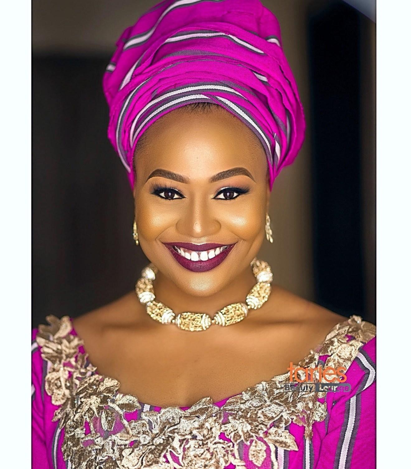 Ex Bbnaija Housemate Vandora in new photos, Hausa bridal inspiration with Aso Oke