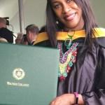Regina Askia graduates from Wagner College