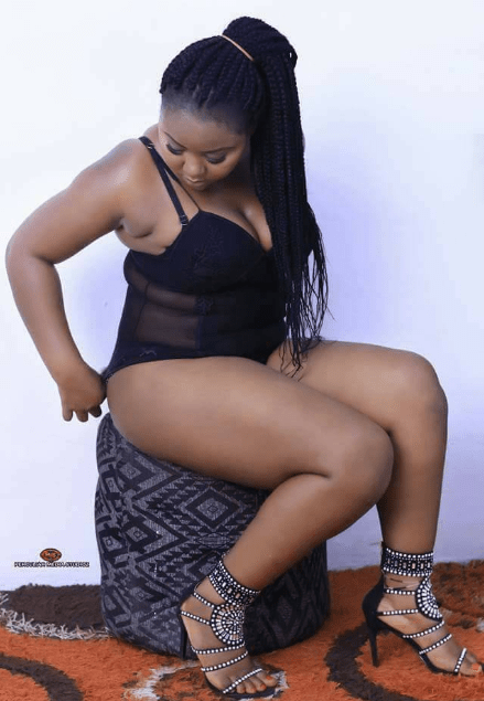 Nigerian lady trends after posting these raunchy photos to mark her birthday
