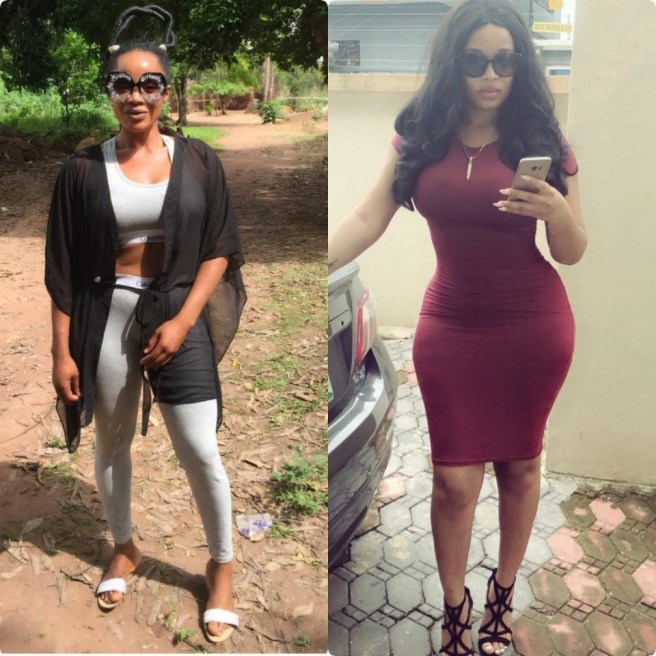 Actresses Onyi Alex and Uche Ogbodo savagely reply non-fans on Instagram