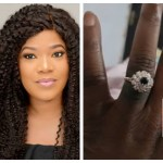 Nollywood actress Toyin Abraham is engaged