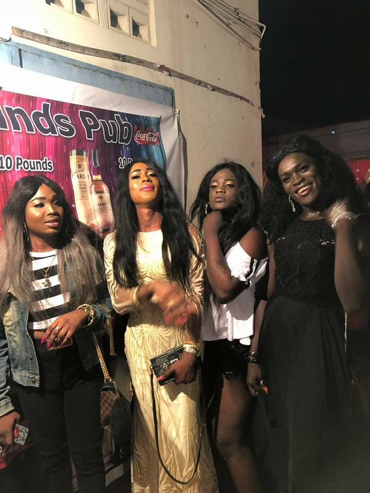 Photos: Check out the glitz and glamour from the annual gay/drag party in Ghana