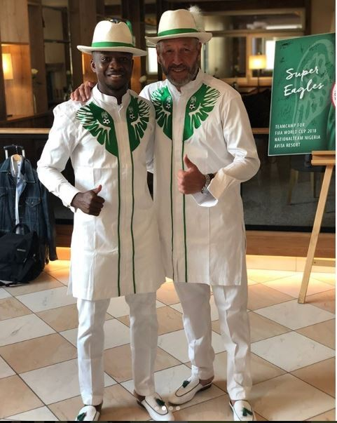 World Cup 2018: Super Eagles travel in style to Russia, rock matching attires and leather slippers (Photos)
