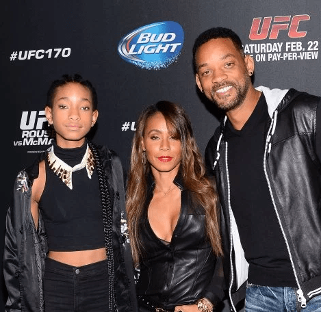 "Willow Smith reveals her ""introduction to sex"" was catching mum Jada Pinkett Smith and dad Will at it"