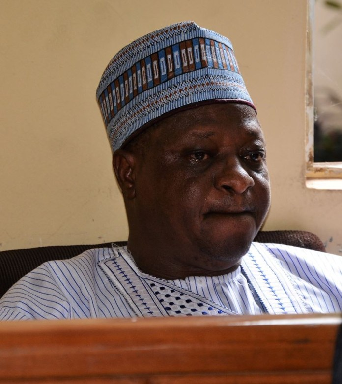 Photos: Ex-Plateau state governor, Joshua Dariye, weeps as court sentence him to 14 years imprisonment for N1.1bn fraud