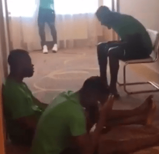 Russia2018: Watch adorable video of Super Eagles players singing Christian worship songs in their hotel