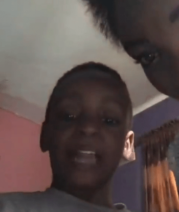 Singer May D shares a video of his babymama asking their son to insult him! Sad to watch!