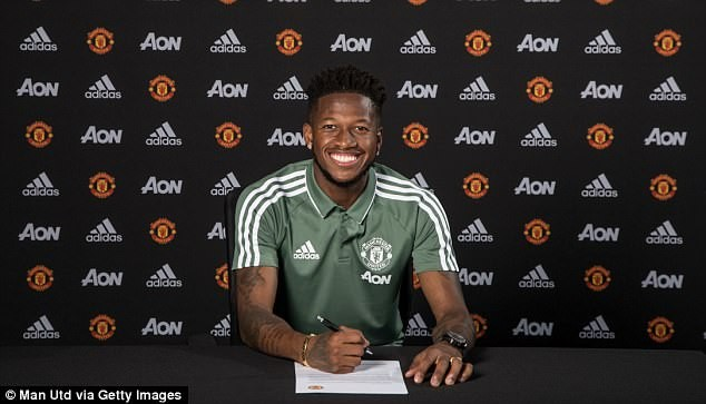 Manchester United sign Brazilian star Fred in ?52m deal from Shakhtar Donetsk