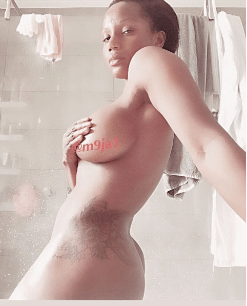 Maheeda goes completely naked in bathroom selfie