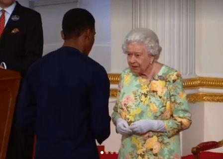 Queen Elizabeth honours three Nigerians at Buckingham palace (photos)