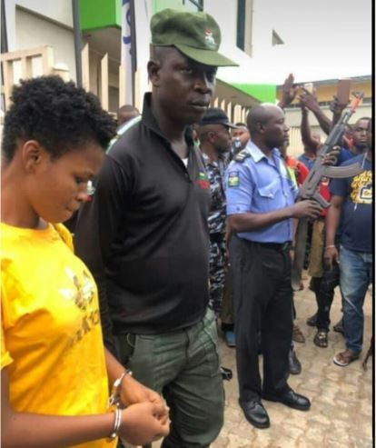 Photo: Imo State University?final year student arrested for trying to chop off man?s penis after sex
