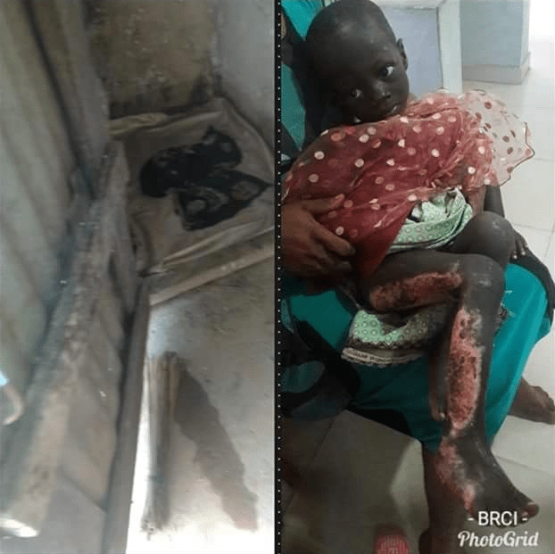 Photo of uncle who set his 2-yr-old niece ablaze for defecating indiscriminately