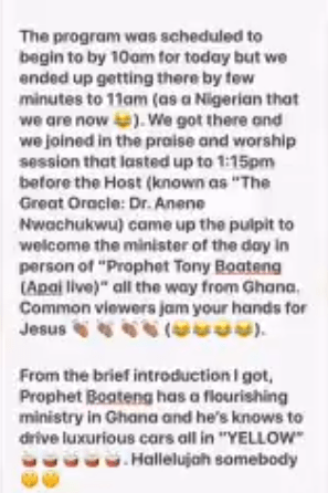 Viral videos show Ghanaian pastor, Boateng, asking churchgoers in Nigeria to pay before they can shake his anointed hands