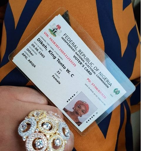 Photo:?Tonto Dikeh officially changes her name to ?King Tonto?