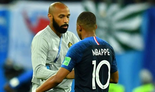 This side by side photo of Thierry Henry and Kylian Mbapp? is proof that no condition is permanent