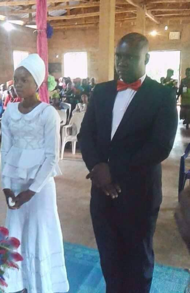 Man who married girl alleged to be 17 years old finally speaks, says their wedding was divinely ordained (video)