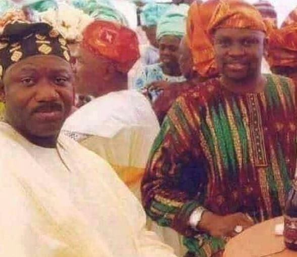 Throwback photo of Governor Fayose and Fayemi... When the going was good!