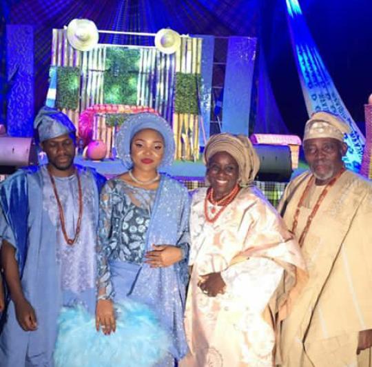 Photos/ videos from the wedding of Olusoji Jacobs, son of veteran actors Olu Jacobs and Joke Silva