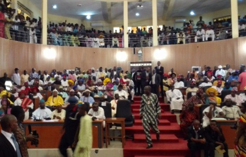 Ekiti state House of Assembly adjourns sitting till October in protest of last Saturday
