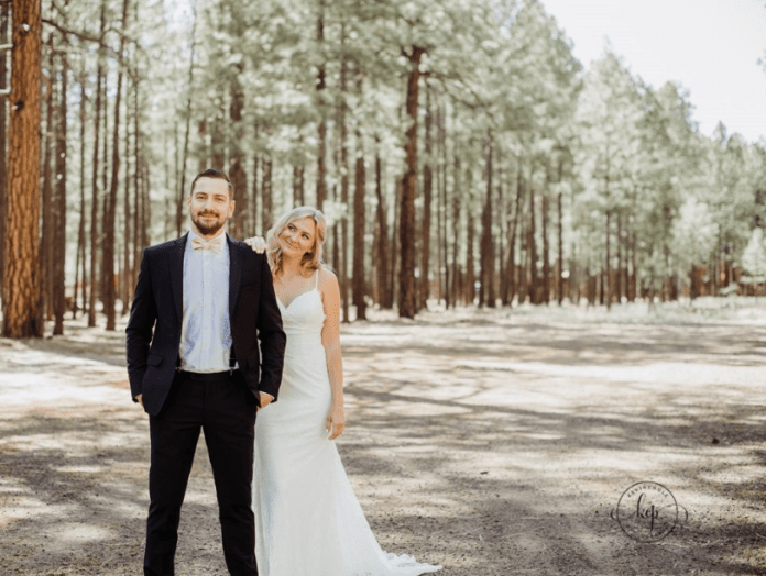 A bride made her brother take her place in her own wedding photos for an epic prank on her husband ? and the pictures are going viral
