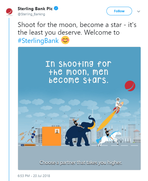 Sterling Bank throws shade at other banks with new advert & the banks reply. Hilarious!