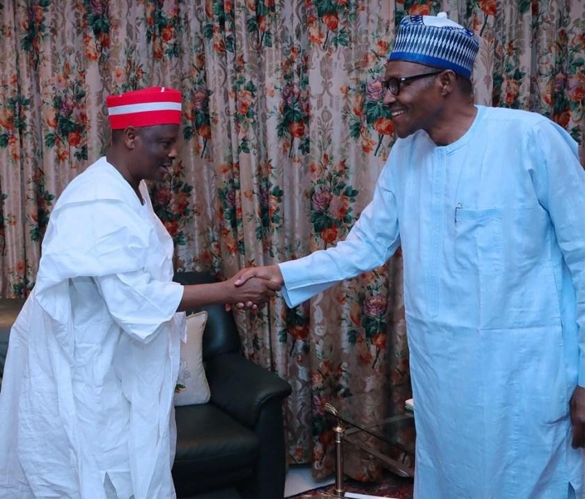 Photos: Senator Kwankwaso met President Buhari last night, this morning he defected from APC to PDP