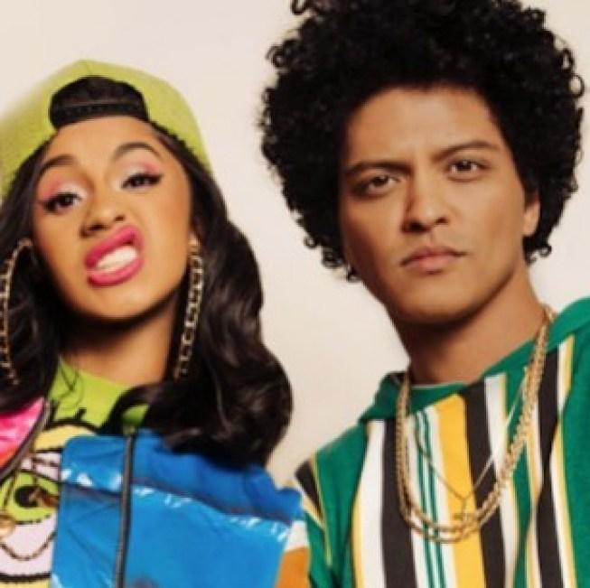 Bruno Mars responds to Cardi B