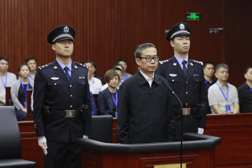 Former governor of Chinese province sentenced to 16 years in prison for corruption