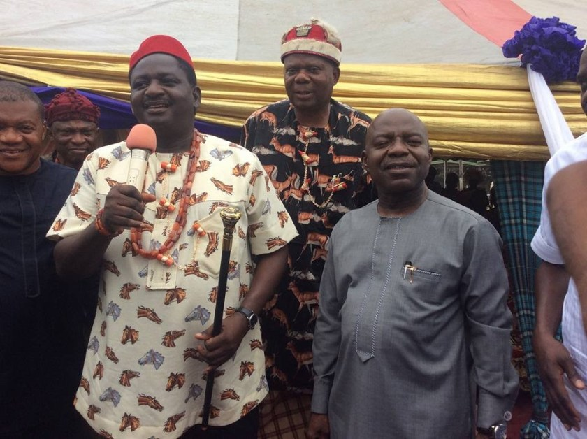 Presidential media aide, Femi Adesina, bags chieftancy title in Abia