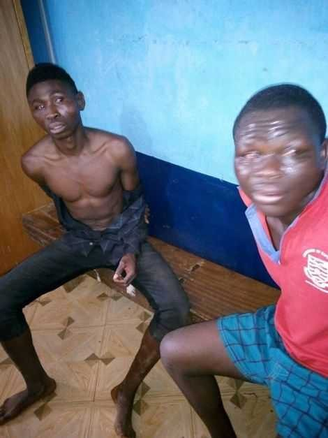 Two cousins sentenced to death by hanging for murdering a pastor?(Photos)