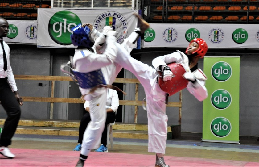Glo Yakata Tarrif excites as 7th IG of police National Open Taekwando Championship ends