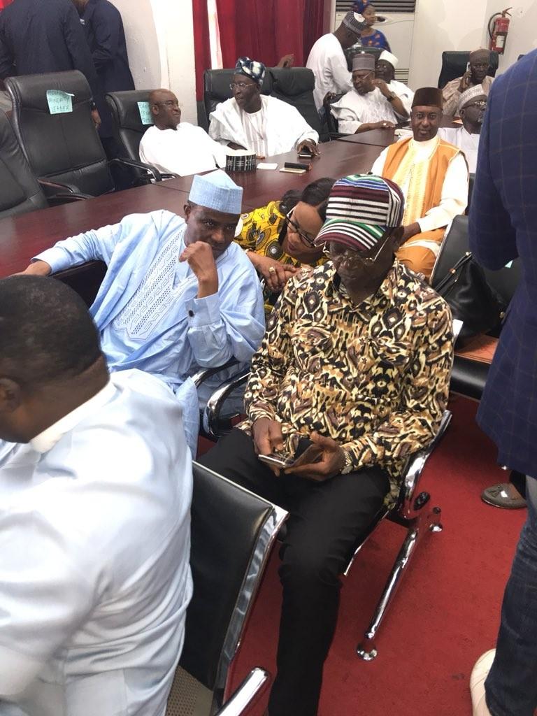 Photos: Saraki, Tambuwal, Ortom, Dino Melaye attend PDP National Executive Council meeting