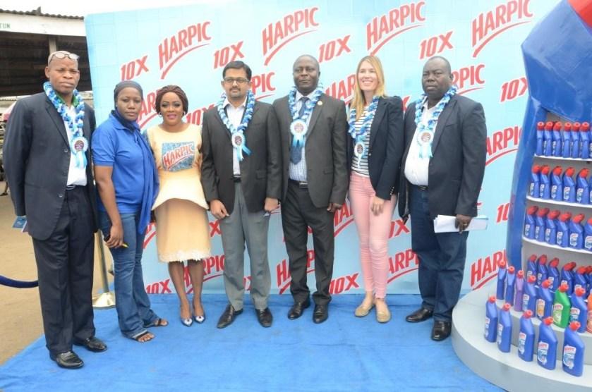 Harpic refurbishes 25 public toilet units in Lagos communities
